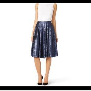 Host Pick!🎉NWOT Blue Sequin FUN Skirt